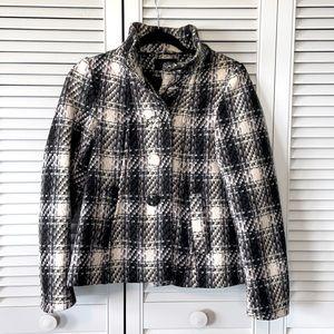 H&M Short Wool Peacoat. Size 4.